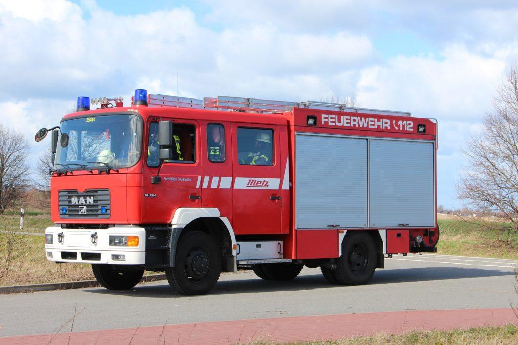 Fahrzeug der Feuerwehr