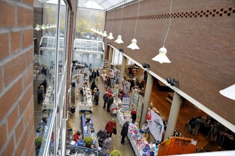 Hobby Kunstmarkt im Haus der Stadt am 27 und 28 Oktober