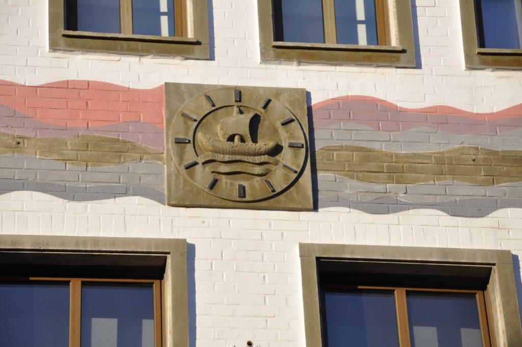 Fassadenbild an Hauswand in Kölnstraße