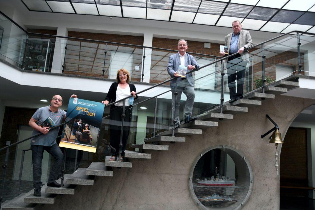 Thomas Lüttgens, Monika Rothmaier-Szudy, Paul Larue, Johannes Esser