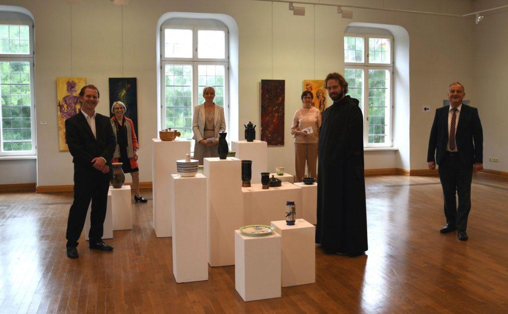 Eröffnung der Ausstellung mit Keramiken von Theodor Bogler und Werken von Stephan Oppermann