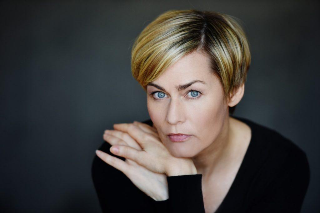 Gesicht der Schauspielerin Gesine Cukrowski