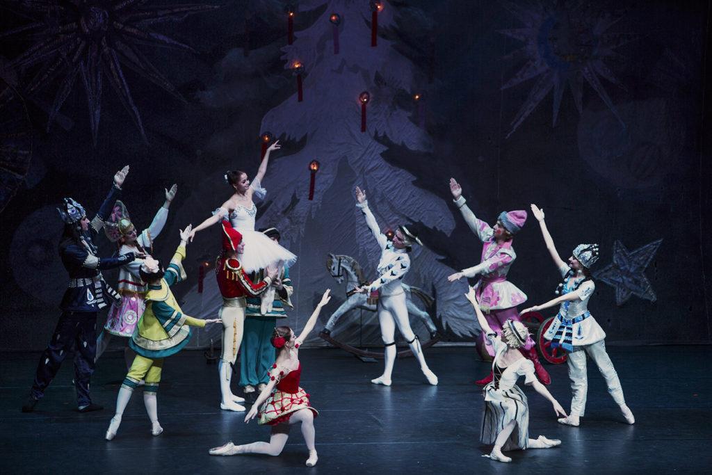 Eine Szene aus dem Ballett