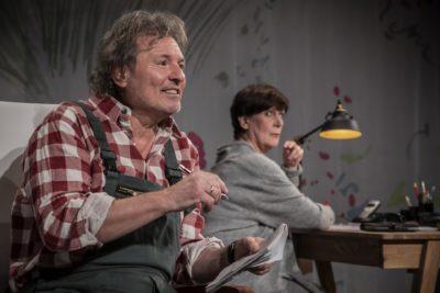 Ein Ehepaar im Gespräch, Szene aus dem Stück