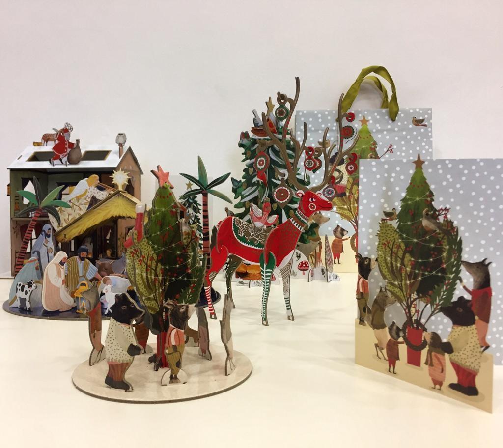 Weihnachtliche Geschenkideen im Museumsshop