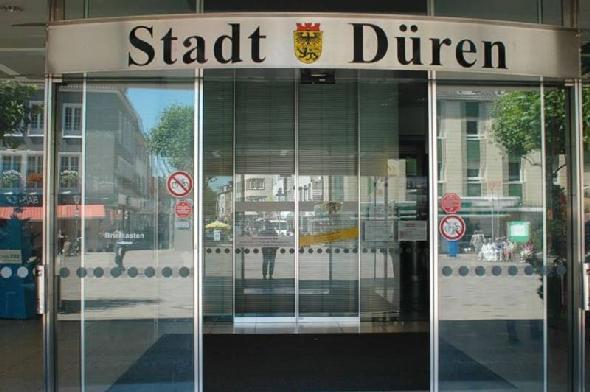 Eingang Bürgerbüro Düren
