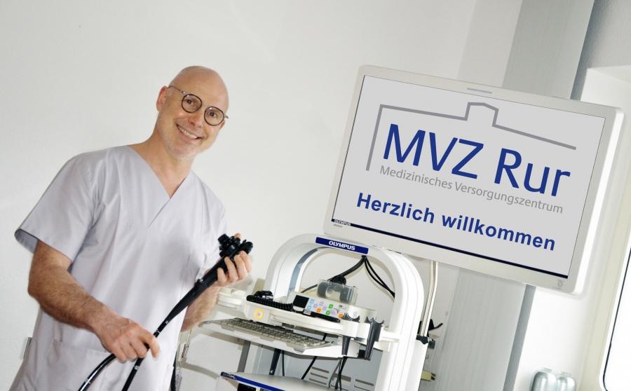 Dr. Horst Kinkel führt die gastroenterologische Praxis an der Tivolistraße in Düren und ist Ärztlicher Leiter des MVZ Rur.