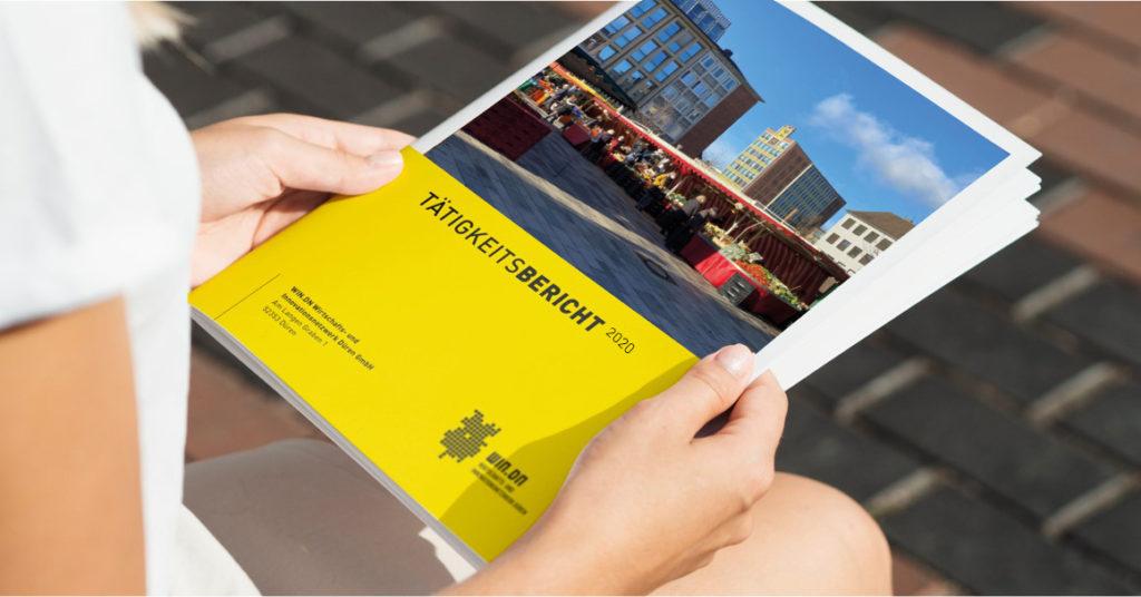 Tätigkeitsbericht 2020 WIN.DN GmbH - Titel