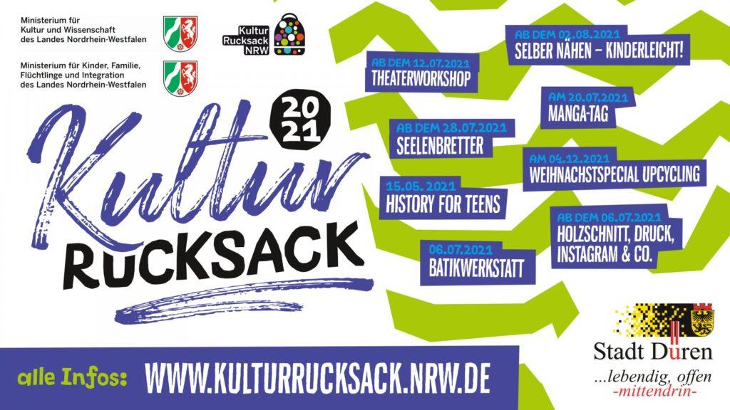 Screen Kulturrucksack 2021