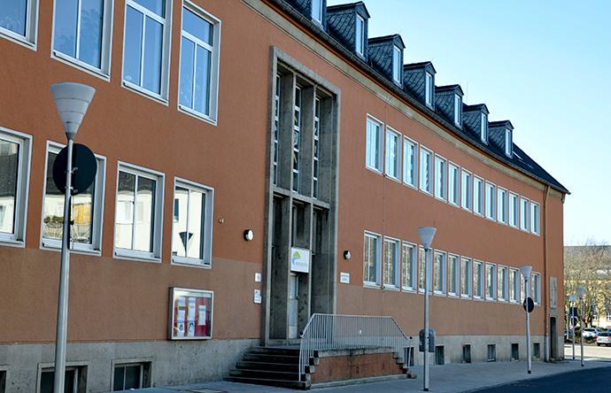 Gebäude der VHS Rur-Eifel in der Violengasse